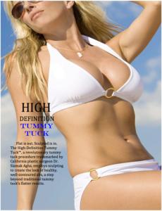 High Definition Tummy Tuck Procedure - Dr. Siamak Agha